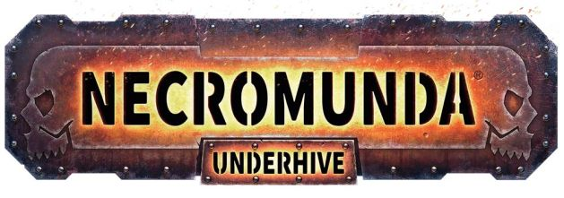 Logotyp för Necromunda - Underhive